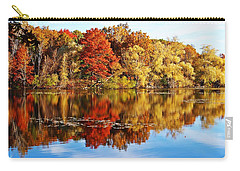 Autumn At Horn Pond Carry-all Pouch by Joe Faherty