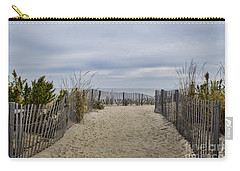 Autumn At The Beach Carry-all Pouch