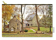 Autumn At The Cloister Carry-all Pouch by Jean Goodwin Brooks
