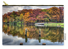Autumn At The Pond Carry-all Pouch