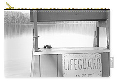 Autumn At White Lake Bw Carry-all Pouch