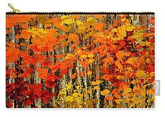Autumn Banners Carry-all Pouch by Tatiana Iliina