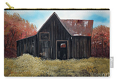 Autumn - Barn -orange Carry-all Pouch