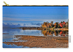 Autumn Beach Solitude Carry-all Pouch