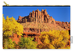 Autumn Beneath The Castle Carry-all Pouch