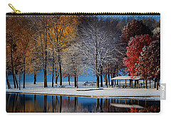 Autumn Blues Carry-all Pouch by Rob Blair
