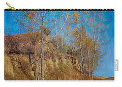 Autumn Bluff Painted Carry-all Pouch