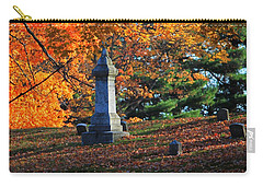Autumn Cemetery Visit Carry-all Pouch