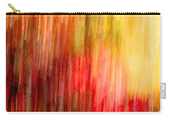 Autumn Colors In Abstract Carry-all Pouch