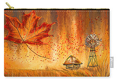 Autumn Dreams- Autumn Impressionism Paintings Carry-all Pouch by Lourry Legarde