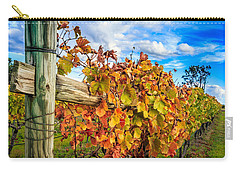 Autumn Falls At The Winery Carry-all Pouch