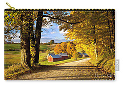Autumn Farm In Vermont Carry-all Pouch