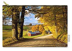 Autumn Farm In Vermont Carry-all Pouch by Brian Jannsen