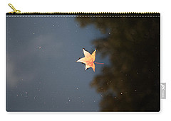 Autumn Floating By Carry-all Pouch by Rebecca Davis