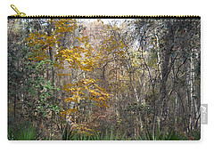 Carry-all Pouch featuring the photograph Autumn Forest by Judy Hall-Folde