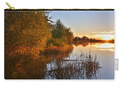 Autumn Glow At The Lake Carry-all Pouch