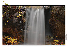 Autumn Gold And Waterfall Carry-all Pouch