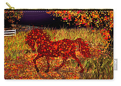 Autumn Horse Bewitched Carry-all Pouch