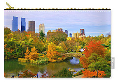 Autumn In Central Park 4 Carry-all Pouch