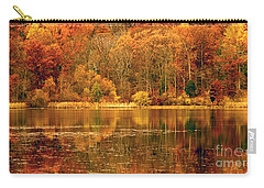 Autumn In Mirror Lake Carry-all Pouch