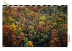 Carry-all Pouch featuring the photograph Colours Of Autumn by Marija Djedovic