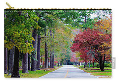 Carry-all Pouch featuring the photograph Autumn In The Air by Cynthia Guinn