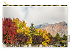 Autumn In The City Carry-all Pouch by Sue Smith