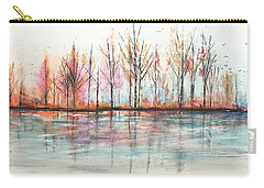 Autumn In The Hamptons Carry-all Pouch