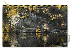 Autumn In The Lake Carry-all Pouch by Linsey Williams