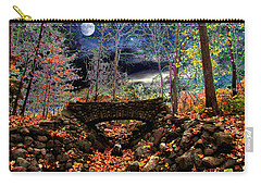 Autumn In The Meadow Carry-all Pouch by Michael Rucker