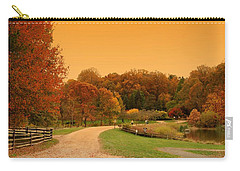 Autumn In The Park - Holmdel Park Carry-all Pouch