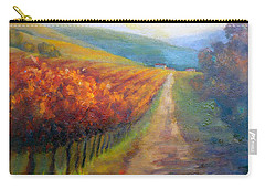 Autumn In The Vineyard Carry-all Pouch