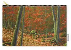 Autumn Leaf Litter Carry-all Pouch by Frank Wilson