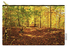 Autumn Leaves Pathway  Carry-all Pouch