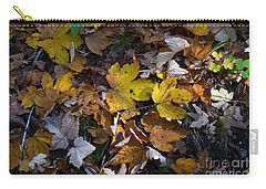 Carry-all Pouch featuring the photograph Autumn Leaves by Phil Banks