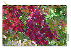 Autumn Leaves Reflections Carry-all Pouch