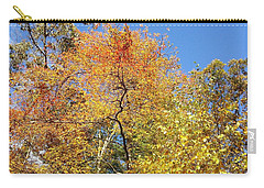 Carry-all Pouch featuring the photograph Autumn Limbs by Jason Williamson