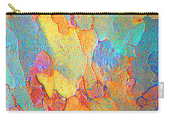 Autumn London Plane Tree Abstract 2 Carry-all Pouch
