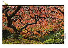 Autumn Magnificence Carry-all Pouch by Don Schwartz