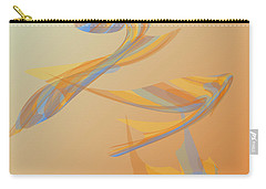 Carry-all Pouch featuring the digital art Autumn Migration by Stephanie Grant