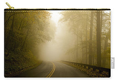 Autumn Mist Blue Ridge Parkway Carry-all Pouch by Terry DeLuco