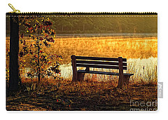 Autumn Morning At The Lake Carry-all Pouch