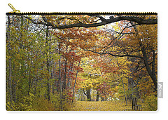 Autumn Nature Trail Carry-all Pouch