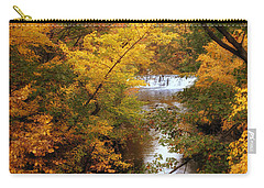 Carry-all Pouch featuring the photograph Autumn On Display by Jessica Jenney