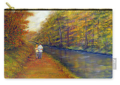 Autumn On The Towpath Carry-all Pouch