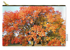 Autumn Orange Carry-all Pouch