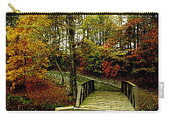 Carry-all Pouch featuring the photograph Autumn Peace by James C Thomas