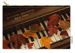 Autumn Piano 14 Carry-all Pouch by Mick Anderson