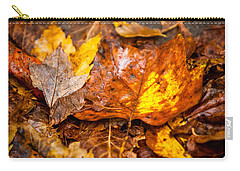 Autumn Pile Carry-all Pouch by Melinda Ledsome