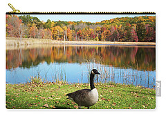 Autumn Pond Goose Carry-all Pouch